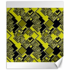 Seamless Pattern Background Canvas 8  X 10