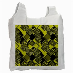 Seamless Pattern Background Recycle Bag (one Side)