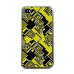 Seamless Pattern Background Iphone 4 Case (clear)