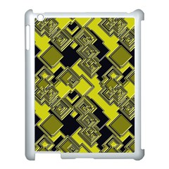 Seamless Pattern Background Apple Ipad 3/4 Case (white)