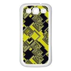 Seamless Pattern Background Samsung Galaxy S3 Back Case (white)