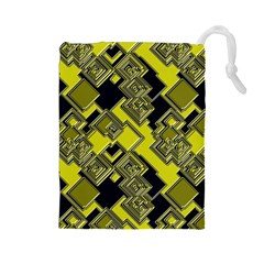 Seamless Pattern Background Drawstring Pouch (large)