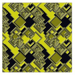 Seamless Pattern Background Large Satin Scarf (square)
