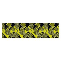 Seamless Pattern Background Satin Scarf (oblong)