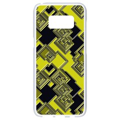 Seamless Pattern Background Samsung Galaxy S8 White Seamless Case