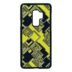 Seamless Pattern Background Samsung Galaxy S9 Plus Seamless Case(black)