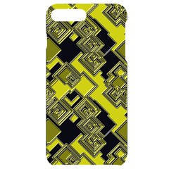 Seamless Pattern Background Iphone 7/8 Plus Black Uv Print Case