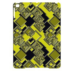Seamless Pattern Background Apple Ipad Pro 9 7   Black Uv Print Case