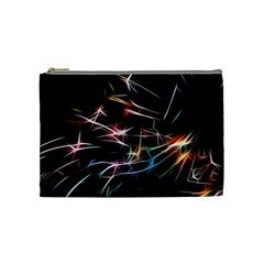 Lights Star Sky Graphic Night Cosmetic Bag (medium)