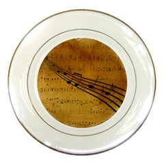 Background Music Porcelain Plates