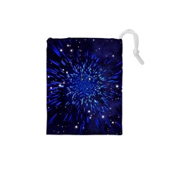 Star Universe Space Starry Sky Drawstring Pouch (small)