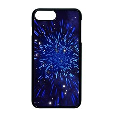 Star Universe Space Starry Sky Iphone 8 Plus Seamless Case (black)
