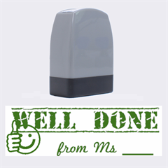Well Done Stamp by notenoughtimemuinteoir