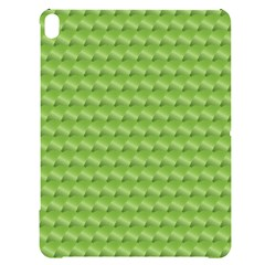 Green Pattern Ornate Background Apple Ipad Pro 12 9   Black Uv Print Case