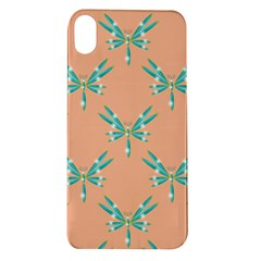 Turquoise Dragonfly Insect Paper Apple Iphone Xr Tpu Uv Case