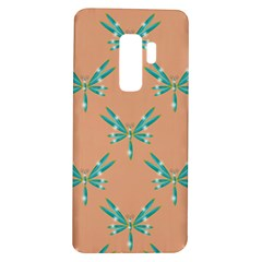 Turquoise Dragonfly Insect Paper Samsung Galaxy S9 Plus Tpu Uv Case by Alisyart