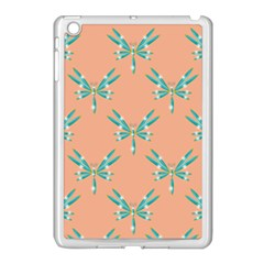 Turquoise Dragonfly Insect Paper Apple Ipad Mini Case (white)