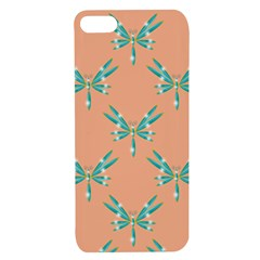 Turquoise Dragonfly Insect Paper Apple Iphone 7/8 Tpu Uv Case