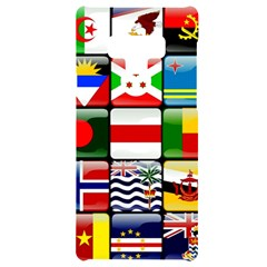 National Flags 1 Samsung Note 9 Black Uv Print Case  by ArtworkByPatrick