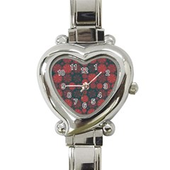 Zappwaits California Heart Italian Charm Watch
