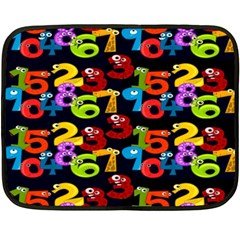 Mathematics Double Sided Fleece Blanket (mini)  by ArtworkByPatrick