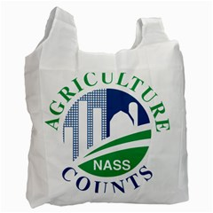 Logo Of Usda National Agricultural Statistical Service Recycle Bag (two Side) by abbeyz71