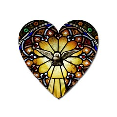 Spain Catalonia Montserrat Church Heart Magnet by Wegoenart
