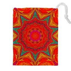 Background Pattern Surface Texture Drawstring Pouch (xxxl)