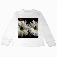 Daisies Kids Long Sleeve T-shirts by bestdesignintheworld