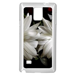 Daisies Samsung Galaxy Note 4 Case (white) by bestdesignintheworld