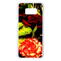 Flowers 1 1 Samsung Galaxy S8 Plus White Seamless Case by bestdesignintheworld