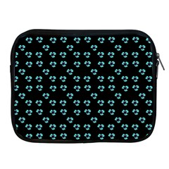 Aqua Pansies Apple Ipad 2/3/4 Zipper Cases by snowwhitegirl