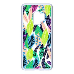 Leaves  Samsung Galaxy S9 Seamless Case(white) by Sobalvarro