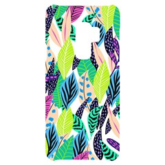 Leaves  Samsung S9 Plus Black Uv Print Case by Sobalvarro