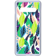 Leaves  Samsung Galaxy S10 Plus Seamless Case(white) by Sobalvarro