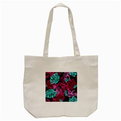 Leaves Tote Bag (cream) by Sobalvarro