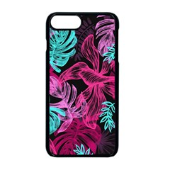 Leaves Iphone 8 Plus Seamless Case (black) by Sobalvarro