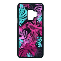 Leaves Samsung Galaxy S9 Seamless Case(black) by Sobalvarro