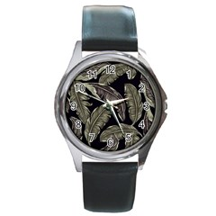 Jungle Round Metal Watch by Sobalvarro