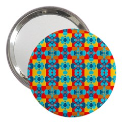 Pop Art  3  Handbag Mirrors by Sobalvarro