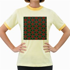 Pattern  Women s Fitted Ringer T-shirt by Sobalvarro