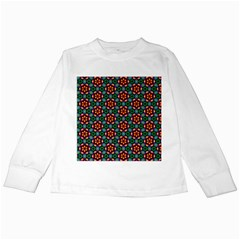 Pattern  Kids Long Sleeve T-shirts by Sobalvarro