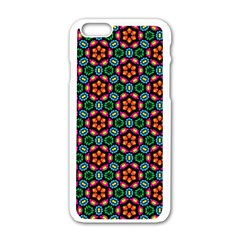 Pattern  Iphone 6/6s White Enamel Case by Sobalvarro