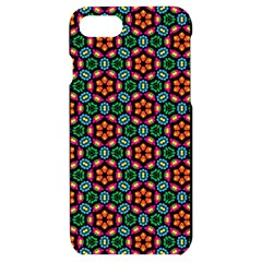 Pattern  Iphone 7/8 Black Uv Print Case by Sobalvarro