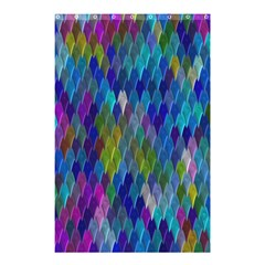 Background  Shower Curtain 48  X 72  (small)  by Sobalvarro