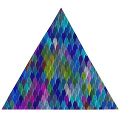 Background  Wooden Puzzle Triangle by Sobalvarro