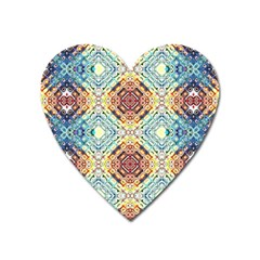 Pattern Heart Magnet by Sobalvarro
