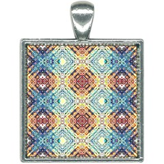 Pattern Square Necklace by Sobalvarro