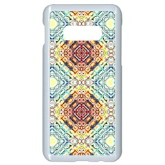 Pattern Samsung Galaxy S10e Seamless Case (white) by Sobalvarro