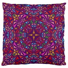 Kaleidoscope  Standard Flano Cushion Case (one Side) by Sobalvarro